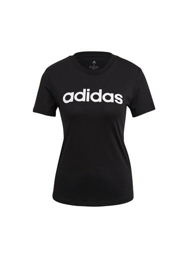 adidas W Lin T Kadın Kısa Kol T-Shirt Siyah